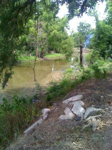 river in gosse tete la